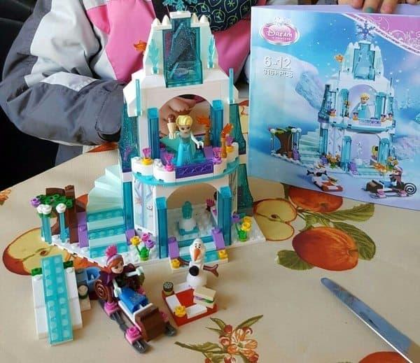Ледовый дворец для маленьких принцесс