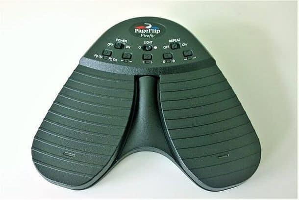 Беспроводная педаль для перелистывания нотных партитур PageFlip Firefly