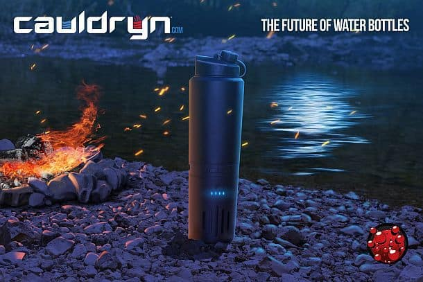 Бутылка для кипячения воды Cauldryn