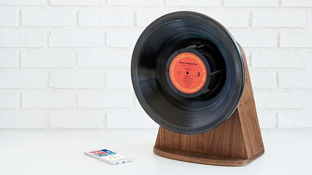 Винтажная беспроводная колонка Vintage Vinyl