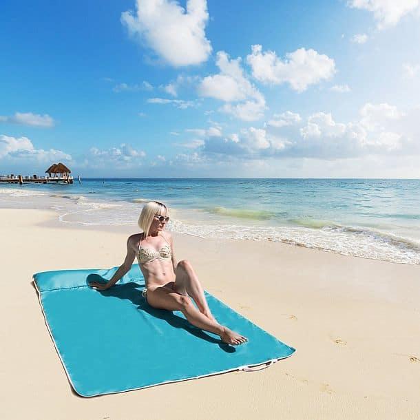 Двухместный пляжный коврик Beltline
