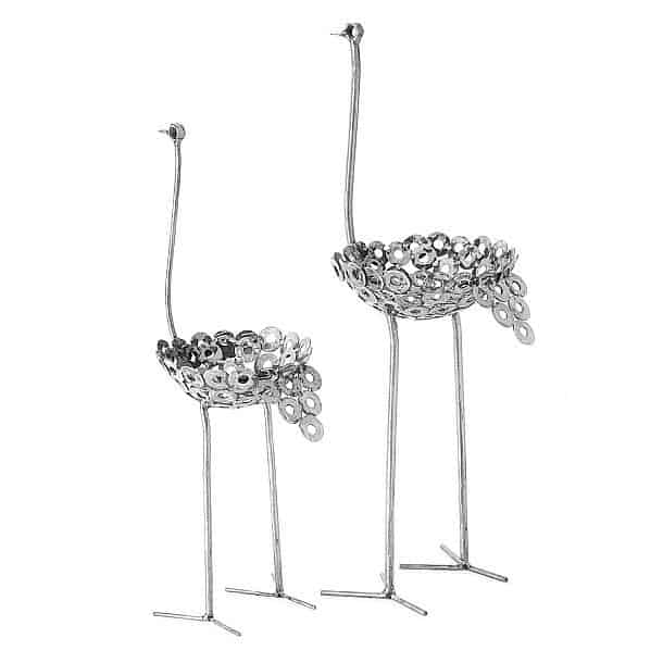 Держатель для цветочного горшка в виде страуса Swahili