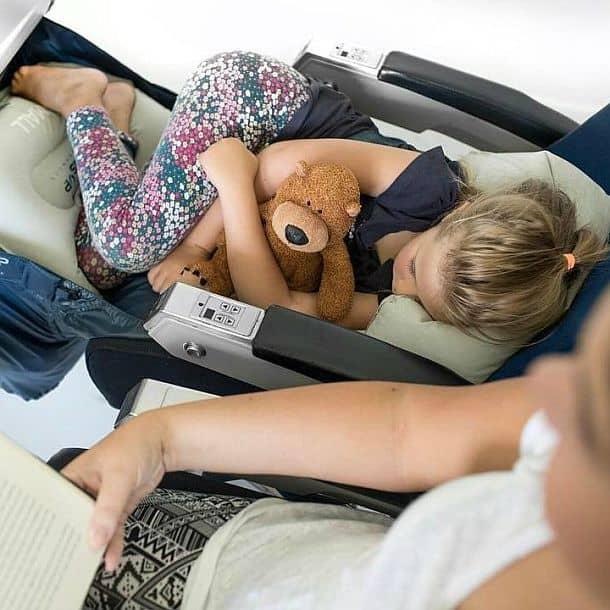 Детский гамак для авиаперелетов