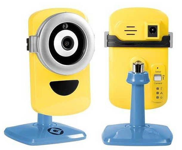 Камера наблюдения Minion Cam от фирмы Tend