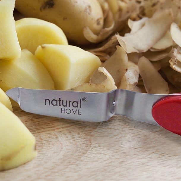Картофелечистка с рукояткой из формованного бамбука Natural Home