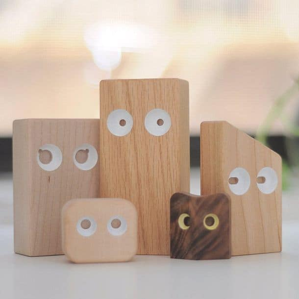 Комплект деревянных игрушек Eye Toy