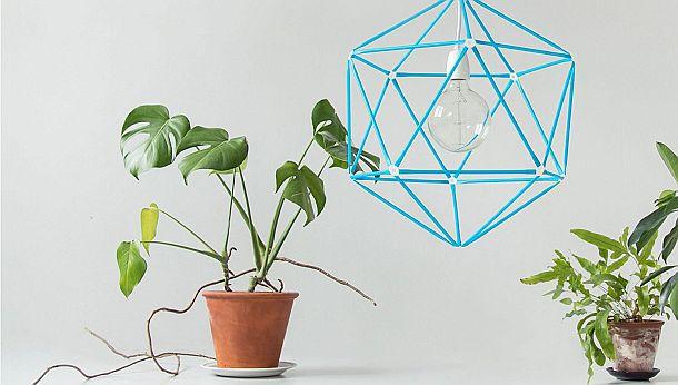 Конструктор Strawbees для создания объектов из «соломинок»