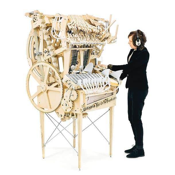 Механический оркестр Marble Machine