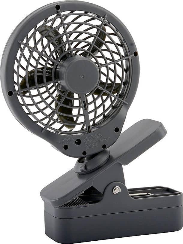 Мини-вентилятор на прищепке
