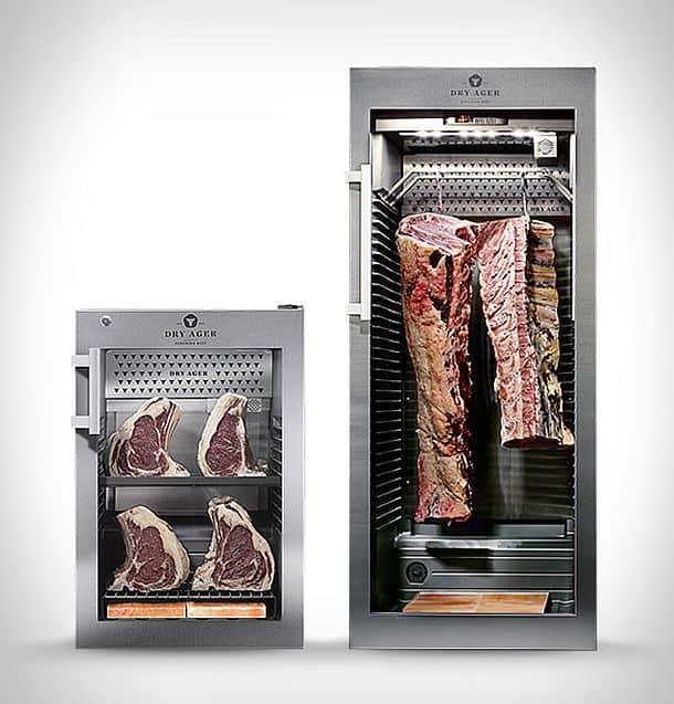 Мини-холодильник для приготовления говядины cухой выдержки