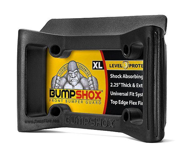 Насадка на номерной знак автомобиля для защиты переднего бампера BumpShox XL