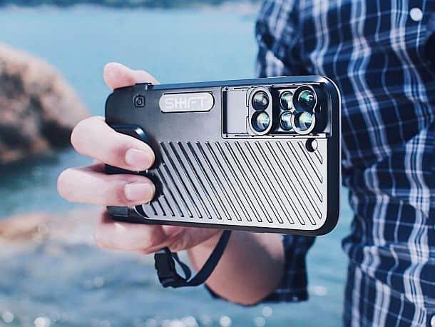 Противоударный чехол ShiftCam для iPhone 7 + с шестью объективами