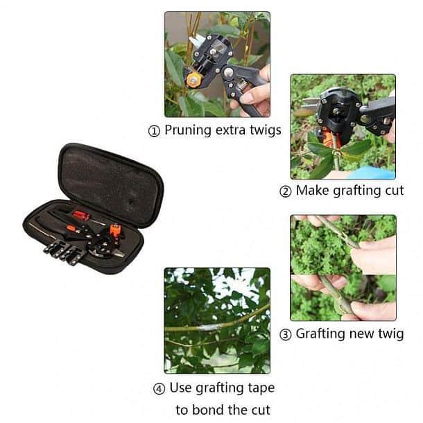 Садовый инструмент для обрезания и прививки растений