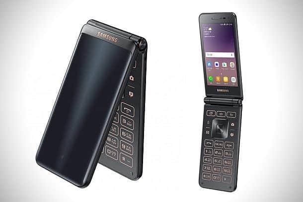 Смартфон-«раскладушка» Samsung Galaxy Folder 2