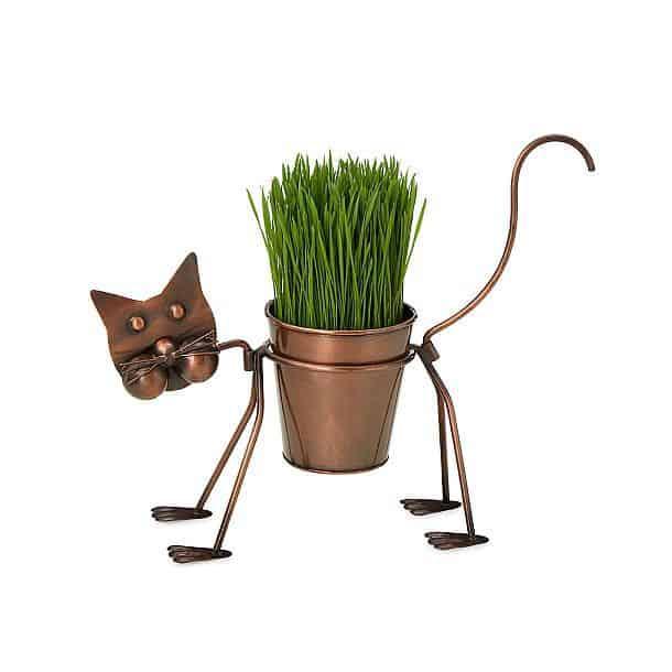 Стойка для цветочного горшка в виде кошки Clarissa