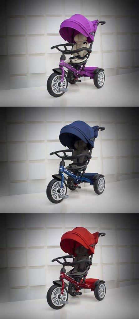 Универсальный детский трехколесный велосипед от компании Bentley