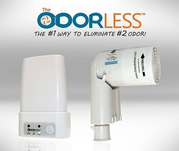 Электронный освежитель воздуха Odorless Toilet Fan