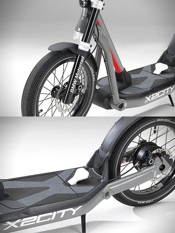Электроскутер BMW Motorrad X2City
