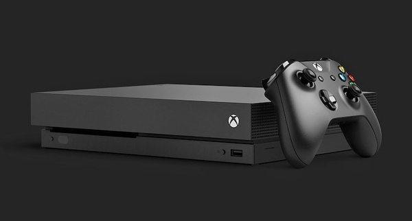 Новое поколение игровой консоли Xbox One X