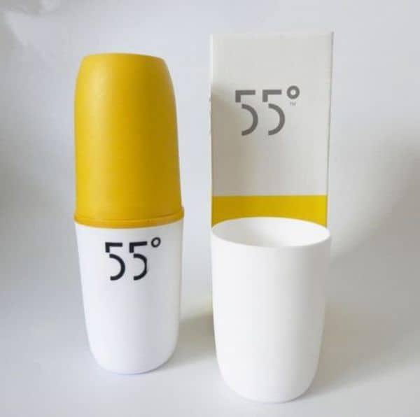 Двойная термобутылка для приготовления тёплой воды