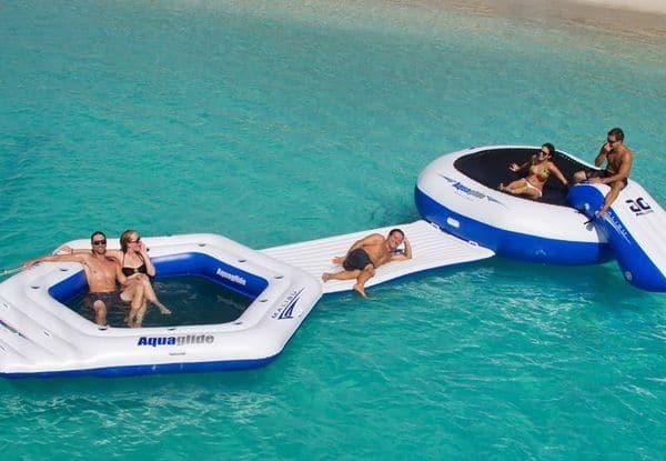 Надувной мини-аквапарк от Aquaglide