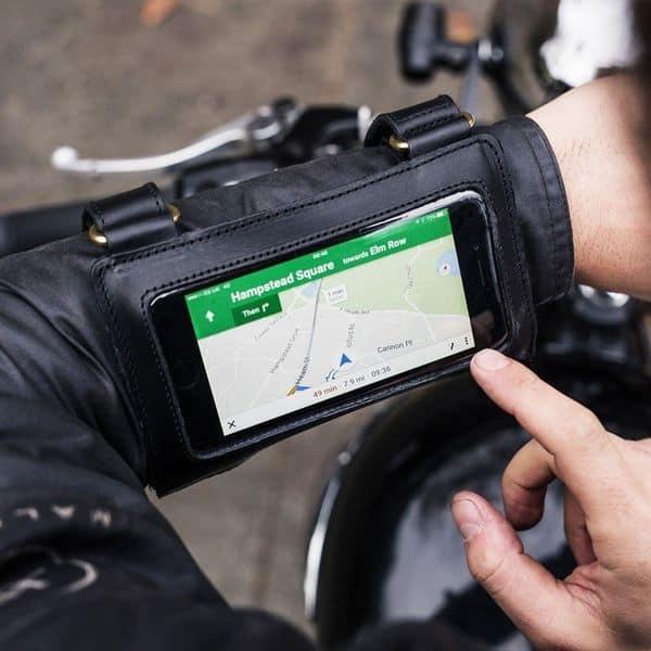 Наручный мотоциклетный чехол James для смартфонов
