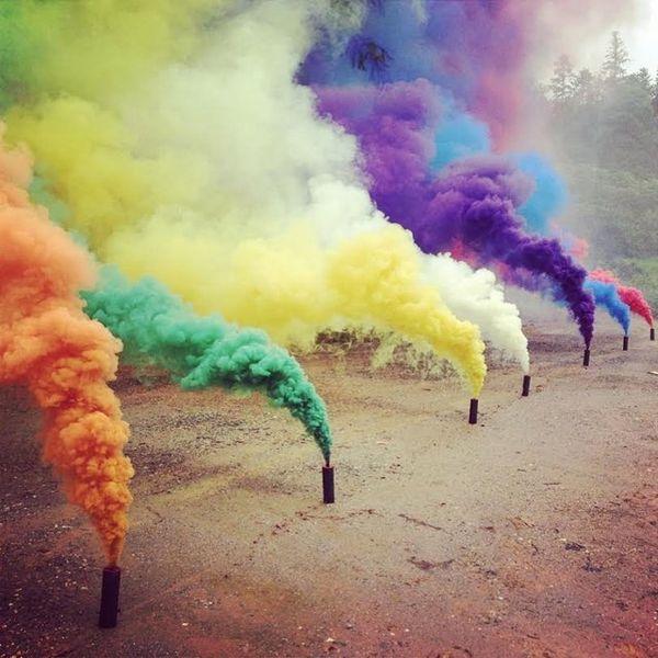 Обойма цветных дымовых гранат Enola Gaye