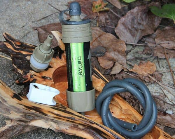Походный подвесной фильтр для воды Miniwell