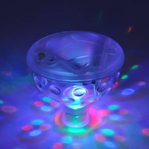 Многоцветная подсветка для ванны и бассейна