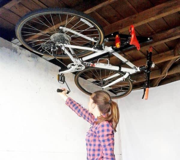Подвесная система для хранения велосипеда Hide-A-Ride