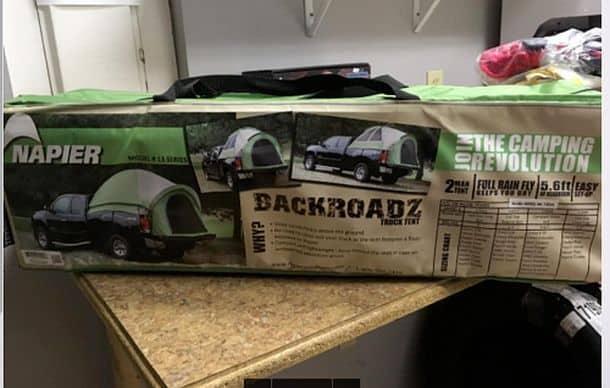 Автопалатка Napier Backroadz