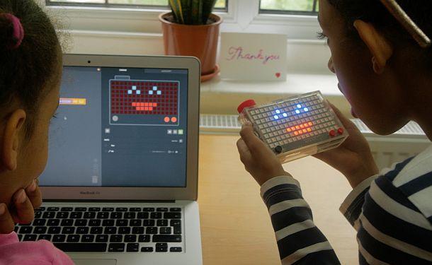 Детский пиксельный набор для обучения программированию Kano