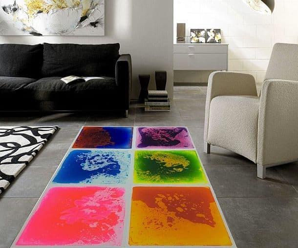 Жидкая плитка для напольных покрытий Art3d Fancy Tile