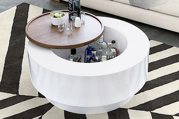 Журнальный столик Ya Ya со скрытым мини-баром