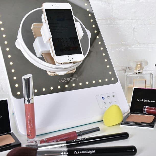 Зеркало для макияжа и селфи с профессиональной подсветкой Riki Skinny