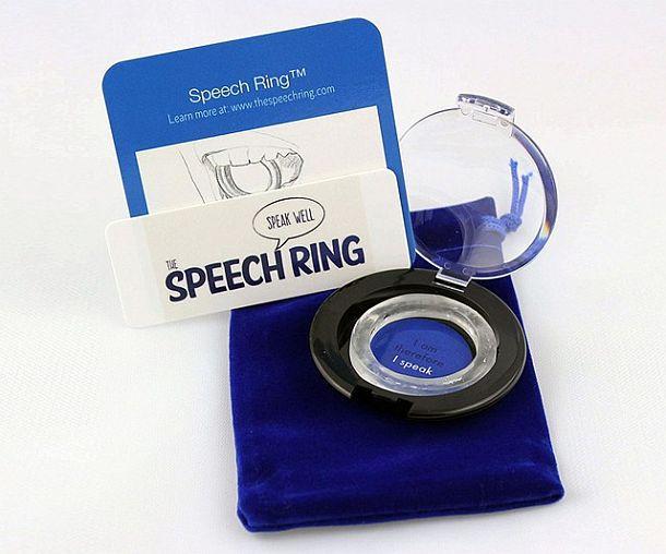 Кольцо для улучшения артикуляции и дикции Speech Ring