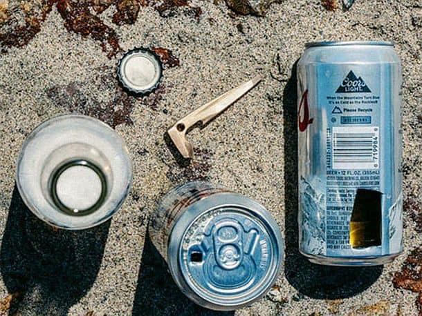 Мультиинструмент с открывалкой Beer Spike 4 в 1