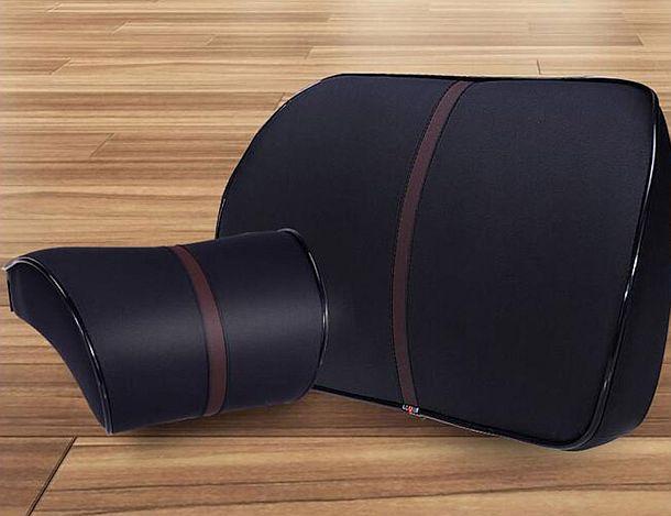 Набор эргономичных поддерживающих подушек для автомобиля