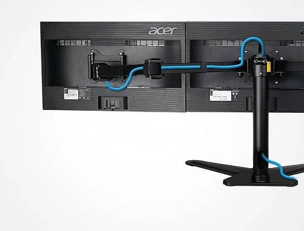 Настольный штатив для трех мониторов Loctek D2T
