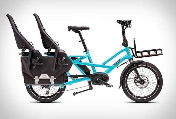 Семейный электрический велосипед GSD от компании Tern
