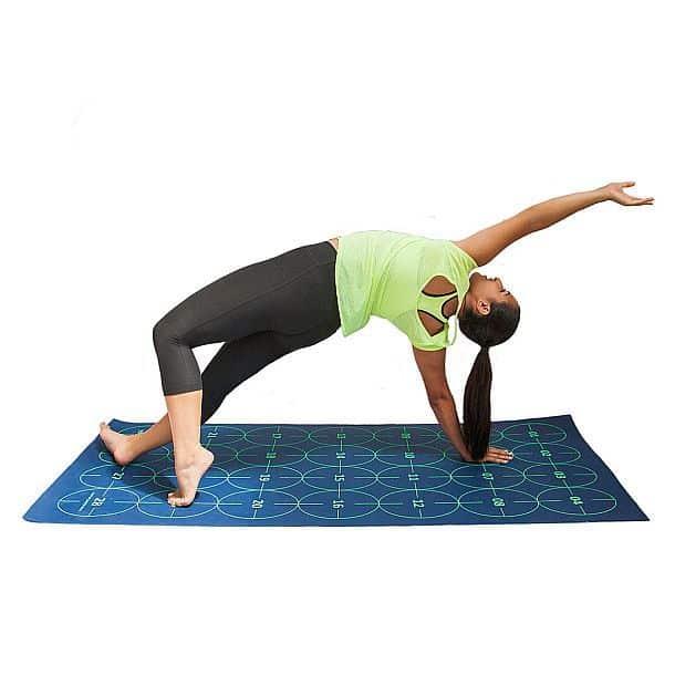 Учебный коврик для йоги с цифрами