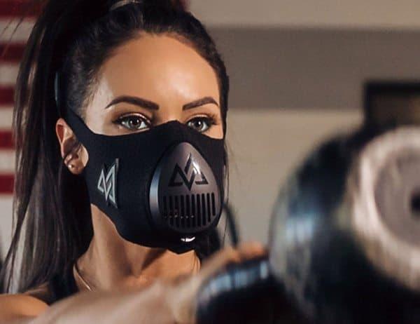 Респираторная маска для тренировки дыхания TrainingMask 3.0