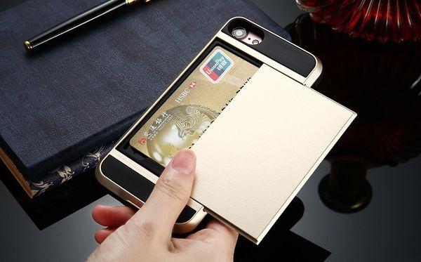 Защищённый чехол для iPhone 6/7 с потайным отделом