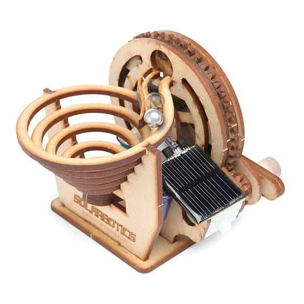 Набор для сборки «вечного» двигателя на солнечной панели