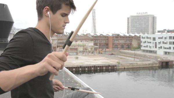 Набор Freedrum для обучения игры на барабанах без барабанов