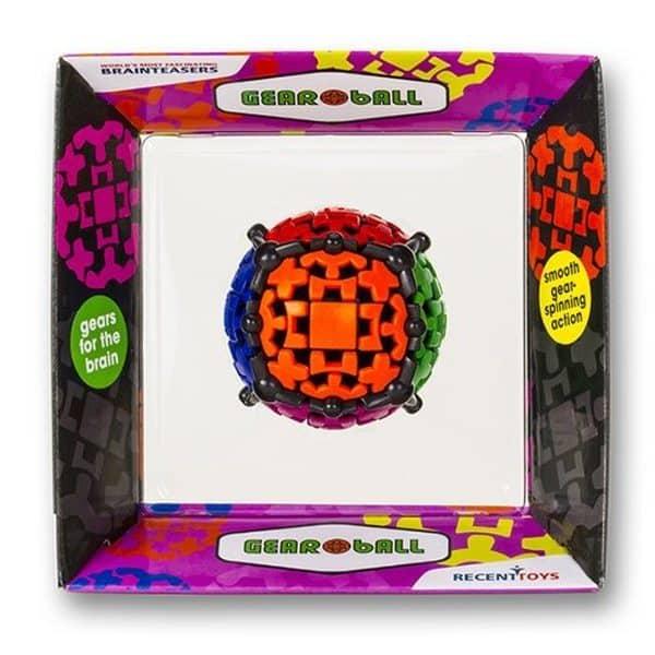 """Трёхмерная головоломка из шестерёнок """"Шар в кубе"""""""