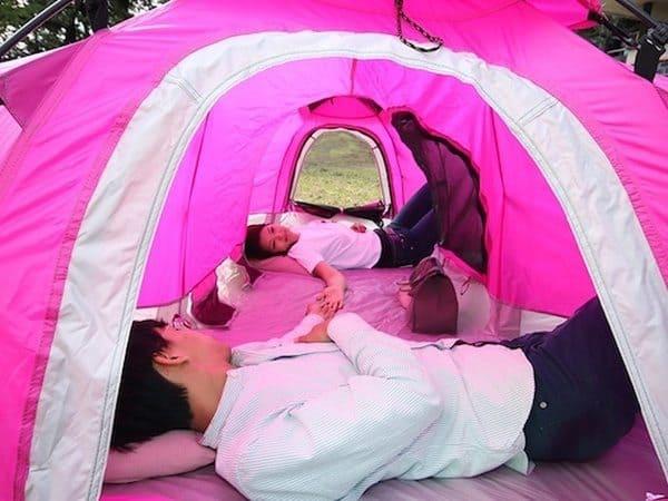 H-образная палатка Doppelganger с френд-зоной