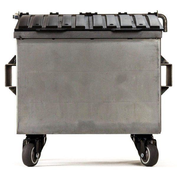 Офисный органайзер в виде миниатюрного бака для мусора