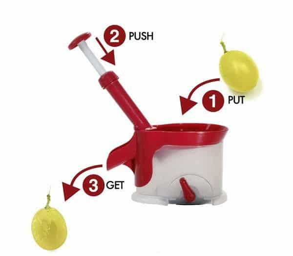 Устройство для удаления вишнёвых косточек