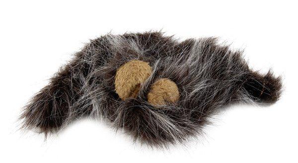 Кошачий парик в виде львиной гривы